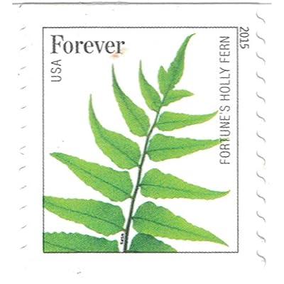 USPS Ferns Forever Stamps - 1 Strip of 10 Stamps: Toys & Games