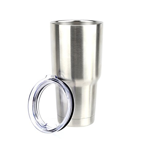 30 oz Stainless Steel Double Wall Insulated Coffee Travel Mug Thermos Tumbler