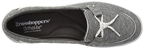 Windham Sneakers Grasshoppers Core Women's Keds Charcoal Canvas 04qE6