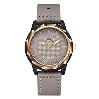 Longra Relojes de Cuarzo Elegante para Hombres de Roma/Reloj de ...