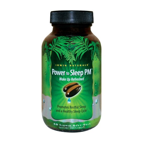 Irwin Naturals Power to Sleep PM 60 sgels