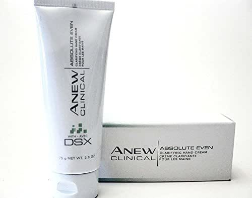 Avon Anew Clinical Absolute Even Clarifying Hand Cream with DSX - 75g