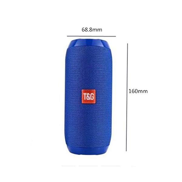 Haut-Parleur Portable Bluetooth étanche Voyage en Plein airCamouflage Portable 160mmx68.8mm de Camouflage portatif extérieur de Carte de Haut-Parleur portatif sans Fil imperméable de Bluetooth 2