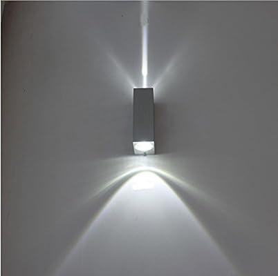 ShouYu Lámpara de Pared Led impermeable Apliques exterior Apliques ...
