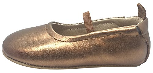 Leather Mary Flat Elastic Shoe Ballet Gold Luxury Old Jane Old Girl's Soles xqFpIp