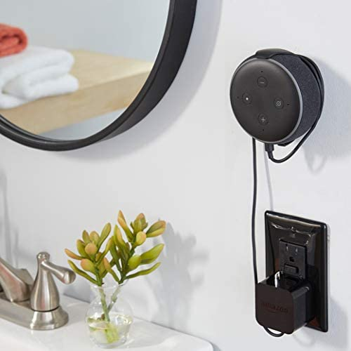 Made for Amazon Mount for Echo Dot (third Gen) - Black