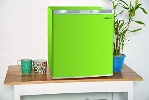 Frigidaire EFR115-GREEN 1.6 Cu Ft Compact Fridge for Office, Dorm Room, Mancave or RV, Green