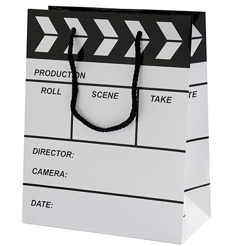 Hollywood Movie Star Clapboard Style Gift Bag Party Supplies Favors