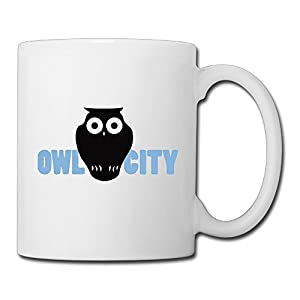 Christina Owl City Logo Ceramic Coffee Mug Tea Cup White