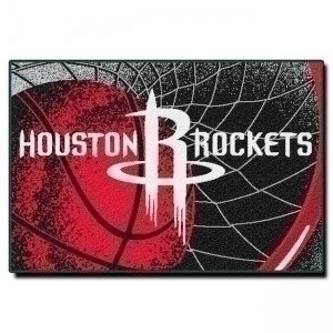 Officially Licensed NBA Houston Rockets Tufted Rug, 39