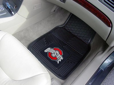 Ohio State University Memorabilia (FANMATS Automotive Mats - The Ohio State University Buckeyes, 2-Pc. Set)