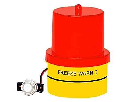 Amazon.com: Congelación Temp Alerta, congelar Warn Luz ...