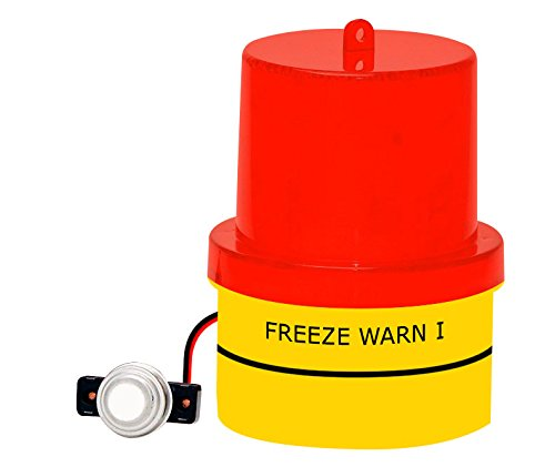 Freezing Temp Alert, Freeze Warn Light: FLASHES below 42°F