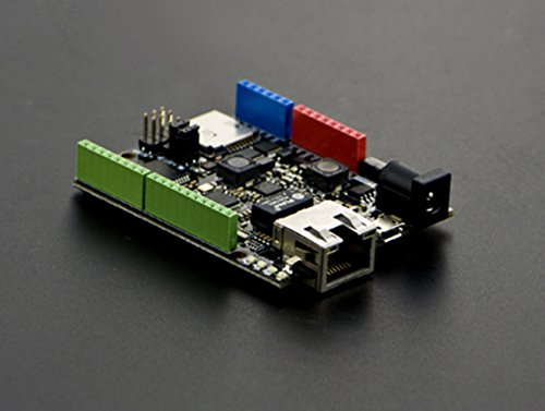 W5500 Ethernet With POE Control Board(Arduino Compatible)/W5500 Chip Is A Hardwired TCP/IP Embedded Ethernet Chip That Provides Easier Internet Connection To Embedded Systems by DF MAKER