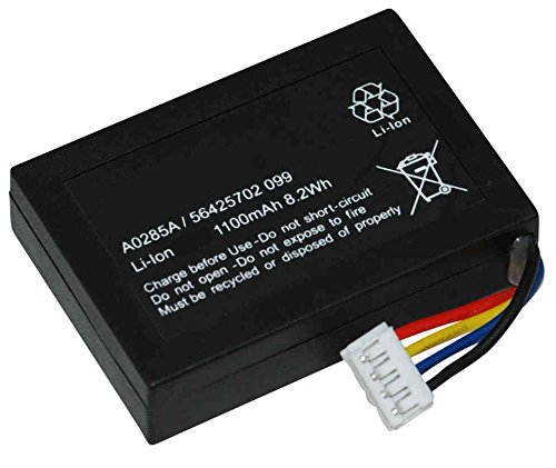 VeriFone MagIC3 Credit Card Reader Battery (Li-Ion, 3.7V, 1100mAh) - Replacement Battery for Gemalto A0285A POS Battery by Synergy Digital