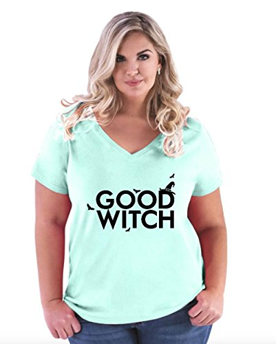 NIB Hallowen Party Costume Good Witch Match w Bad Witch Women Curvy Plus Size V-Neck (Halloween Costumes 2016 Ideas For Couples)