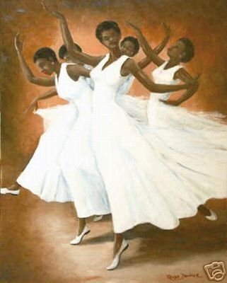 African American Art Print - Ebonies Poster