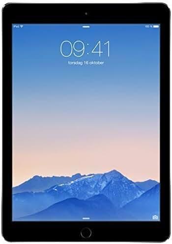 Apple MGTX2LL/A 9.7-Inch iPad Air 2 (1.50 GHz, 1 GB DDR2, 128 GB, iOS 8) Space Gray  (Certified Refurbished)