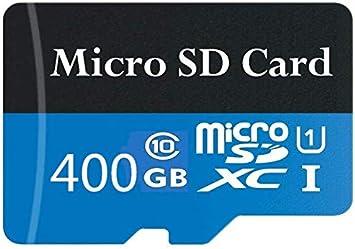 Tarjeta Micro SD de 400 GB de alta velocidad clase 10 Micro SD SDXC con adaptador