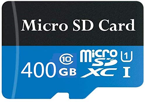 400GB Micro SD Card High Speed Class 10 SDXC with Free SD Adapter, Designed for Android Smartphones, Tablets and Other Compatible Devices (400GB-c)