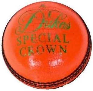 Orange Dukes Special Crown A Cricket Ball Orange - Mens
