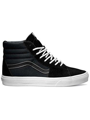 Vans Sk8-Hi Sneakers (Hemp) Black/True White Mens 9.5