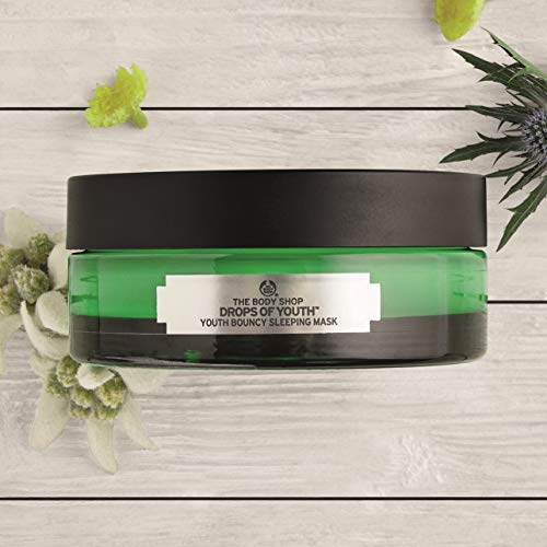 The Body Shop Drops of Youth Bouncy Sleeping Mask, 3.1 Oz
