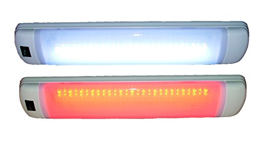 Aqua Signal LED Multi-Purpose Interior Light, Red/White