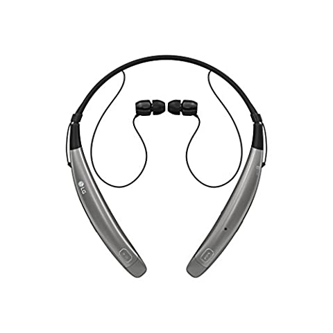 LG Tone Pro HBS-770 Wireless Stereo Headset - Silver (Lg Bluetooth Headset Tone Pro)