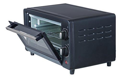 Ardes AR6210B Forno Elettrico Compatto Gustavo Black 10 Litri Doppio Vetro con Accessori Nero, 800 W 36,6x27,4x20,4cm 3