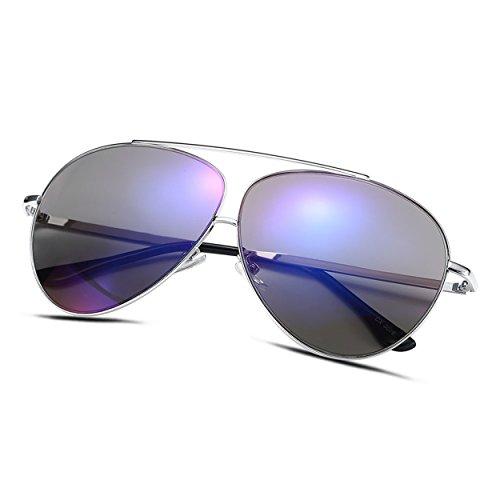 Minidog Alloy Oval UV400 Sunglasses for Men - DGXD0046