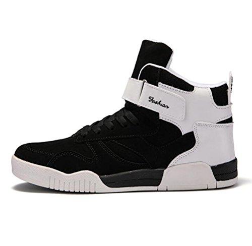 Sport Respirantes Noir Chaussures Pour Basketball Running Baskets Hommes Montantes De Chaussure Scennek xUqwHYARW4