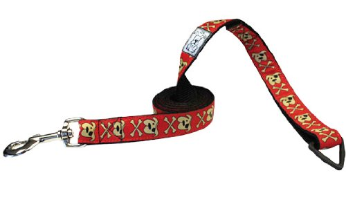 RC Pet Products 1-Inch by 6-Feet Dog Leash, Pirate Pooch, My Pet Supplies