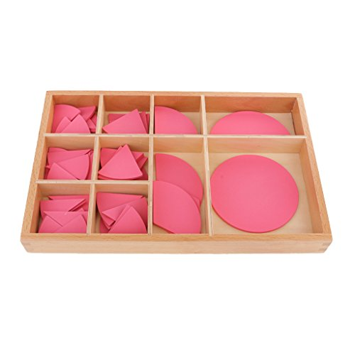 MagiDeal Kids Toddlers Montessori Material Wooden Toy Combination Circle Teaching Aid