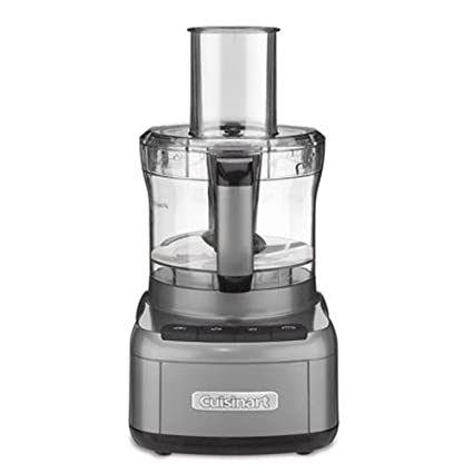 2a2814917c33 Amazon.com: Cuisinart FP-8GM Elemental 8-Cup Food Processor, Gunmetal:  Kitchen & Dining