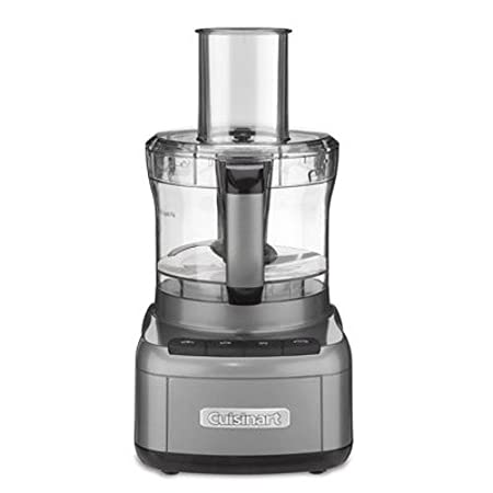 Cuisinart FP-8GM Elemental 8 Cup Food Processor, Gunmetal