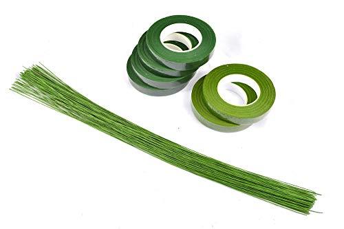 [해외]AllBright 플로 라 테이프 조화 테이프 꽃 조화 꽃 예술 수공예 DIY 지 볼륨 와이어 50 책 2 색 6 개 세트 / AllBright Flora Tape Artificial Flower Tape Tape Flower Artificial Flowers Flower Art Handicraft DIY Ground Wire 50 pcs 2 Colors ...