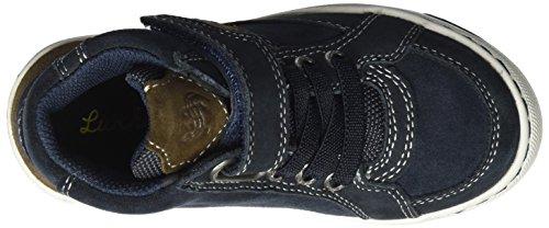 Lurchi Barney-Tex - Zapatilla Alta Niños Blau (atlantic Brown)