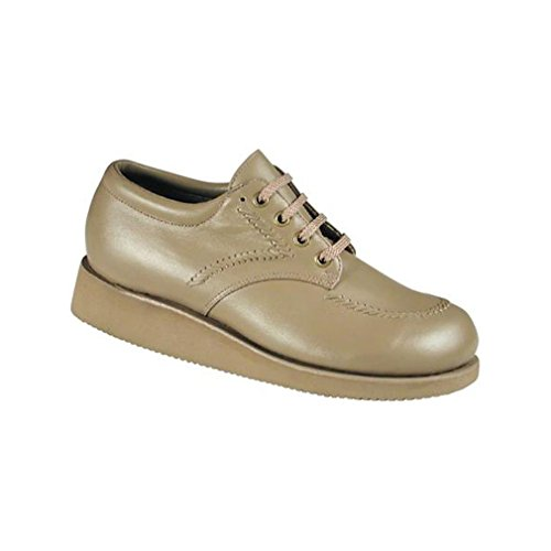 UPC 708109000951, Drew Shoe Women's Fitter Casual Oxfords, Beige Leather, 7 AAA