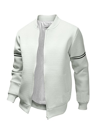 uxcell Sleeves Collar Casual Jacket