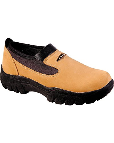 Roper Men's Performance Slip-On Shoes Round Toe Brown 14 D(M) US