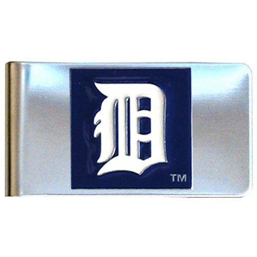 - MLB Detroit Tigers Large Metal Money Clip