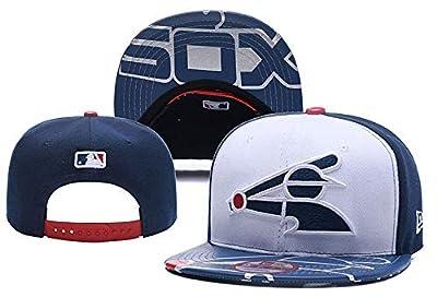 Adult Men's Chicago White Sox Snapback Cap Adjustable Hat