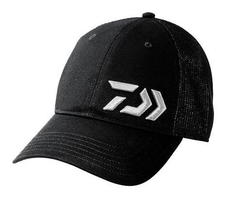 629e82c46b6cd Amazon.com   Daiwa D-Vec 3D Black Trucker Cap DVEC-3D-BLK TR Fishing ...