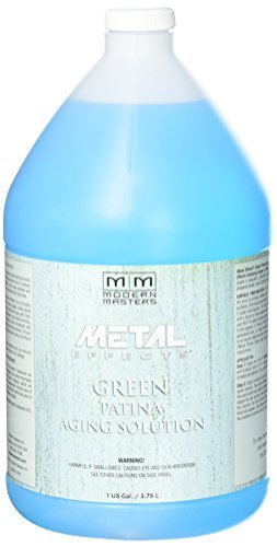 Aging Solution - Modern Masters PA901-GAL Aging Solution Patina, Green, 1-Gallon by Modern Masters