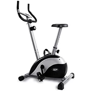 Genki Magnetic Exercise Bike Health & Fitness Magnetic Recumbent Bike Exercise Bike, 5kg Flywheeled, Easy Adjustable Seat, Monitor, Pulse Rate Monitoring