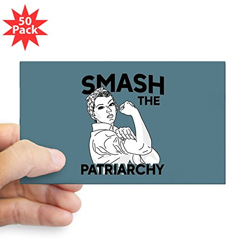 CafePress - Rosie The Riveter - Smas - Sticker (Rectangle 50 pk) by CafePress
