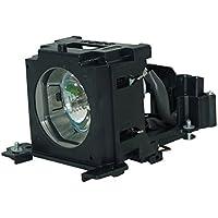 Hitachi OEM(Original Bulb and Generic Housing) CP-X260, CP-X265, CP-X267, CP-X268, CP-X268A, DT00751, HX-3180, HX-3188, PJ-658 Projector Lamp with Housing