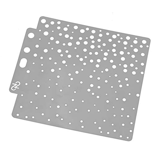 Embossing Plastic Stencil - Simdoc Dotting Stencils Plastic Painting Template DIY Craft for Painting Scrapbooking Embossing Stamping Album Card