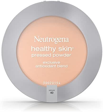 Neutrogena Healthy Skin Pressed Powder Spf 20, Medium 40, .34 Oz. (Pack of 2)